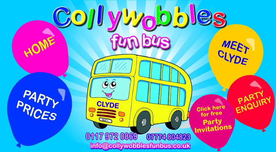 Welcome to Collywobbles Fun Bus, Bristol. UK